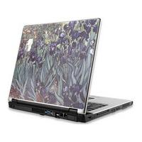 Manhattan laptop accessoire: Notebook Computer Skin, Fits Most Widescreens Up to 17 in., Van Gogh, Irises - Multi .....