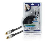 HQ coax kabel: SS3542/5 - Zwart