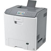 Lexmark laserprinter: C748de - Zwart, Cyaan, Magenta, Geel