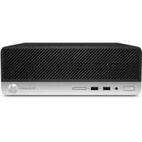 HP pc: ProDesk 400 G4 i3-7100 500GB - Zwart, Zilver