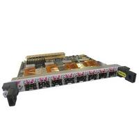Cisco netwerkkaart: 8-Port OC-3c/STM-1 Packet over Sonet SPA Spare - Zwart, Roestvrijstaal