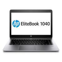 HP laptop: EliteBook 1040 G3 - Zilver