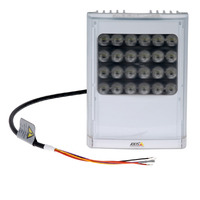 Axis beveiligingscamera bevestiging & behuizing: T90D35 W-LED - Zilver, Wit