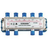 Schwaiger kabel splitter of combiner: VTF8848 241 - Zilver