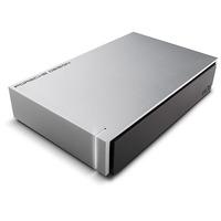 LaCie externe harde schijf: P'9233 8TB - Aluminium, Zwart