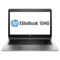 HP laptop: EliteBook Folio 1040 G2 - Intel Core i7 - Windows 7 Pro - Zilver