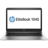 HP laptop: EliteBook Folio 1040 G3 - Zilver