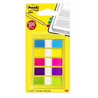 Post-It Index Smal - Draagbare Set Indextab - Multi kleuren
