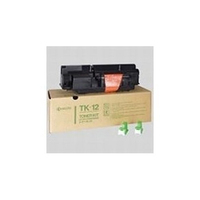 KYOCERA cartridge: TK-12 toner black for FS1550 /1600 - Zwart