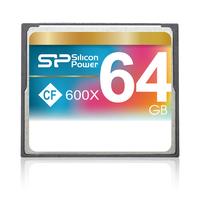 Silicon Power flashgeheugen: 64GB 600X - Grijs