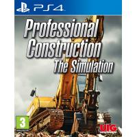 UIG Entertainment game: Professional Construction - The Simulation  PS4