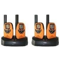 DeTeWe walkie-talkie: Outdoor 8000 Quad Case