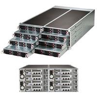 Supermicro server barebone: SuperServer F617R2-R72+ - Zwart