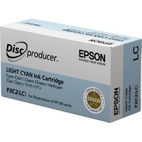 Epson inktcartridge: Ink Cartridge, Light Cyan - Lichtyaan