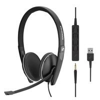 Sennheiser SC 165 USB Headset - Zwart