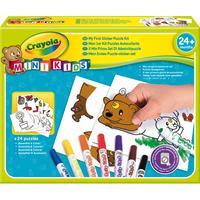 Crayola : Mini Kids - Stickerpuzzel set - Veelkleurig