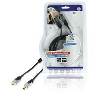 HQ USB kabel: 1.8m USB 3.0 A/Micro B