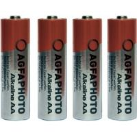 AgfaPhoto batterij: LR6 - Grijs, Rood