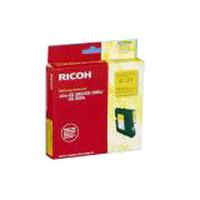 Ricoh inktcartridge: Regular Yield Gel Cartridge Yellow 1k - Geel