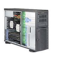 Supermicro server barebone: SuperServer 7048A-T - Zwart