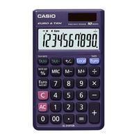 Casio SL-310TER, LCD, 1 x LR54 Calculator - Paars