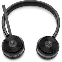 HP UC Wireless Duo Headset - Zwart