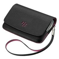 BlackBerry mobile phone case: Torch 9800/9810, Folio - Zwart, Roze