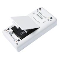 Brother oplader: Batterij houder voor oplaadbare batterij (PA-BT-4000LI) - Wit