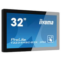 Iiyama touchscreen monitor: ProLite T3234MSC-B3X - Zwart