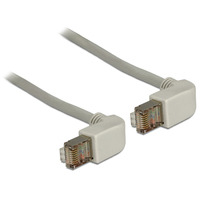 DeLOCK netwerkkabel: 0.5m Cat.5e SFTP - Grijs