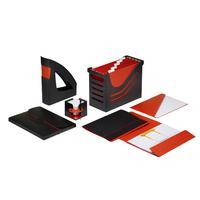 Jalema : Accent office set - Zwart, Rood