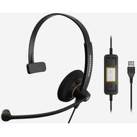 Sennheiser headset: SC 30 USB ML - Zwart