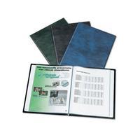 Rillstab album: display book A4 - Zwart