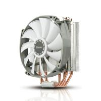 Enermax Hardware koeling: ETS-T40Fit air cooler - 200W TDP, 4 pin PWM, 460g - Aluminium, Koper, Wit