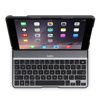 Belkin mobile device keyboard: QODE Ultimate Lite Keyboard Case for iPad Air 2 - Zwart, QWERTY