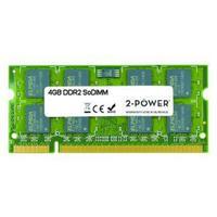 2-Power RAM-geheugen: 4GB DDR2 SoDIMM - Groen