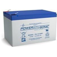 Power-Sonic UPS batterij: PS-12120VDS - Blauw, Grijs
