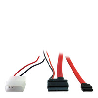 Inter-Tech ATA kabel: 88885264 - Rood