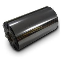 Bixolon printerlint: 110mm x 300m Black Wax Resin Ribbon - Zwart