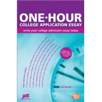 JIST Publishing algemene utilitie: One-Hour College Application Essay - eBook (EPUB)