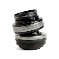 Lensbaby Composer Pro II with Sweet 35 Optic camera lens - Black, Zilver