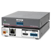 Extron DTP HDMI 4K 230 Rx Reciever - Zwart, Roestvrijstaal