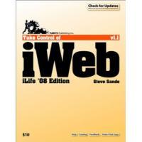 TidBITS Publishing algemene utilitie: TidBITS Publishing, Inc. Take Control of iWeb: iLife '08 - eBook (EPUB)