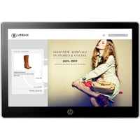 HP L7010t 10,1-inch retail touchmonitor Paal display - Zwart, Zilver