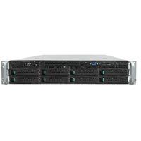 Intel server barebone: Server System R2308GZ4GC - Zwart, Metallic