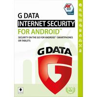 G DATA software licentie: Internet Security for Android 6U 1Y