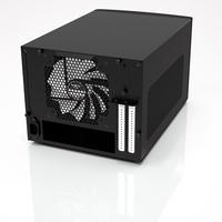 Fractal Design behuizing: NODE 304 - Zwart