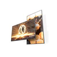 "DynaScan 100"", 3840 x 2160, 700 nits, 3000:1, 6.5 ms, HDMI, DP, USB, Rj-45, Wi-Fi, Black Public display - Zwart"