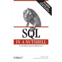 O'Reilly product: SQL in a Nutshell - EPUB formaat