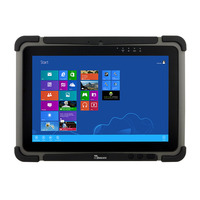 Winmate M101B tablet - Zwart, Grijs
